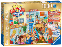 ravensburger what if no 4 at the vets 1000pc jigsaw puzzle