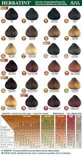 mahogany hair color chart herbatint herbal hair color permanent gel natural hair colour