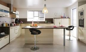tv cuisine déco cuisine table ilot central 27 villeurbanne meuble salle