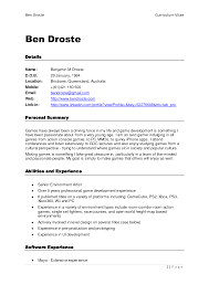 resume free online resume for your job application