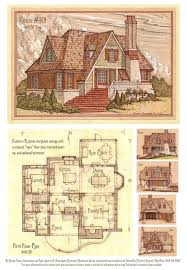 305 best house plans images on pinterest vintage houses