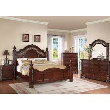 Bedroom Furniture Dresser With Mirror by Charleston Bedroom Bed Dresser U0026 Mirror Queen 55860