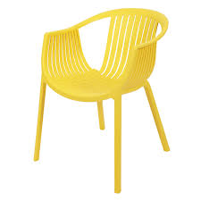 Esszimmerstuhl Viva Dunkelgrau Hochwertiger Design Gartenstuhl U0027joe U0027 In Gelb Aus Pp Kunststoff