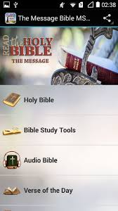 message bible msg android apps google play