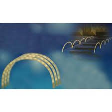 sienna lighted candy cane archways pathway markers outdoor