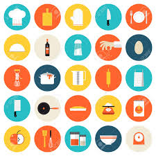 Kitchen Utensils And Tools by Kitchen Utensils And Cookware Flat Icons Set Cooking Tools And