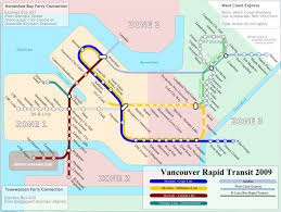 Seattle Public Transit Map by Vancouver Transit Maps Pinterest