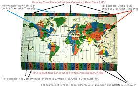 utc zone map zones map on cloth educational zone