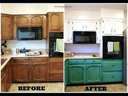 before and after kitchen cabinet painting do it yourself painting kitchen cabinets home design ideas