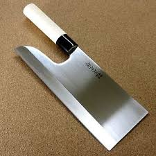 Disposal Of Kitchen Knives Japanese Masahiro Kitchen Cleaver Noodles Knife 240mm 9 5 Soba