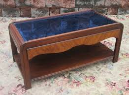 Coffee Table Price Vintage 1930 S Deco Cobalt Blue Glass Coffee Table Price