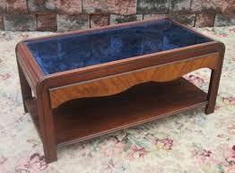 glass coffee table price vintage 1930 s art deco cobalt blue glass coffee table price sold