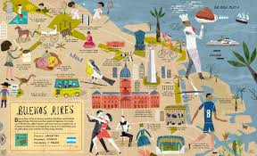 Buenos Aires Map City Maps Folioplanet