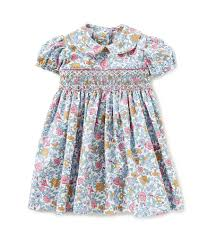 edgehill collection baby 3 24 months floral print smocked