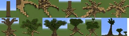 Minecraft House Blueprints Layer By Layer by How To Build Large Huge Trees In Minecraft Minecraft Guides