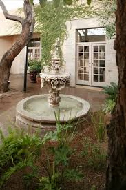 Spanish Colonial House by Spanish Colonial Courtyard Fountain 50482 House Decoration Ideas