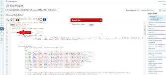 advanced code editor u2014 wordpress plugins