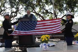 Veterans Flag Depot Veterans Day Tribute Orange Ca