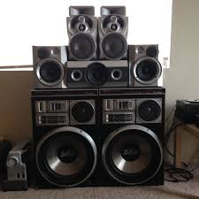kenwood subwoofer home theater diy ghetto soundsystem diyaudio