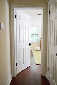 Installing Interior Door Hinges Updating Interior Doors By Installing New Doorknobs Bronze Door