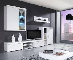 Wall Unit Furniture Wooden Modern Storage Wall Unit With Thre Storage On