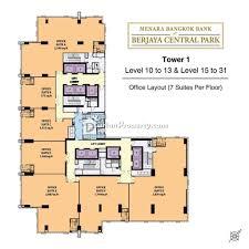 office for rent at menara bangkok bank klcc for rm 5 400 by james