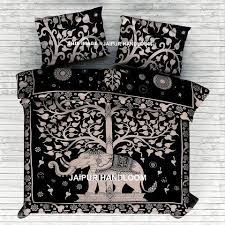 indian mandala bedding set queen bed cover with matching pillows