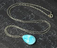 turquoise necklace silver chain images Turquoise gemstones turquoise jewelry turquoise necklaces jpg