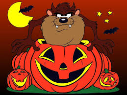 disney halloween background images devil tasmanian tune looney toons brothers looney tunes