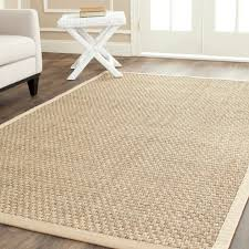 Pottery Barn Trellis Rug by Decorating Patio Design Using Seagrass Rugs Plus Wicker Furniture
