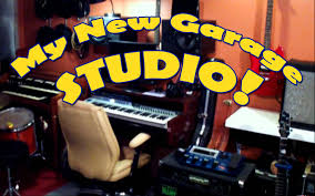 check out my garage recording studio youtube