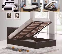 Single Ottoman Storage Bed by Classic Offer Single Ottoman Storage Leather Bed 9