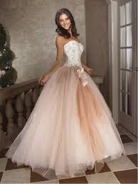 quincia era dresses gown sweet sixteen dress strapless floor length satin and tulle