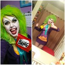 pieced together this joker costume for my work halloween party and