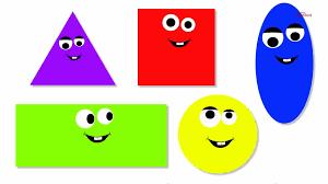 shape song shapes song preschool youtube