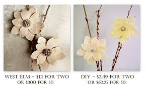 librarian tells all diy winter flower clip ornaments à la west elm