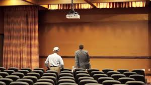 Stage Curtain Track Hardware by Motorized Drapery Rods For Theater Drapes And Stage Curtains