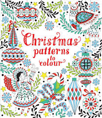 christmas patterns christmas patterns to colour at usborne books at home