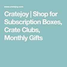 monthly gift clubs cratejoy shop for subscription boxes crate clubs monthly gifts