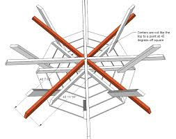 Free Wood Picnic Bench Plans by Ana White Octagon Picnic Table Diy Projects
