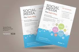 social media brochure template brochure social media brochure template