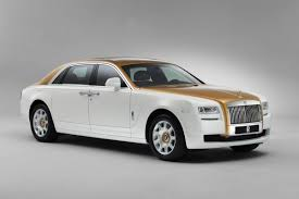 roll royce fenice rolls royce crafts unique gold themed ghost chengdu golden sunbird