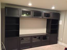 Meuble Tv Besta Ikea by Ikea Besta Tv Wall Unit Assembled U0026 Wall Mounted U2013 Ikea Assembly