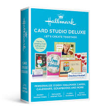 Software For Invitation Card Making Amazon Com Hallmark Card Studio Deluxe 2017