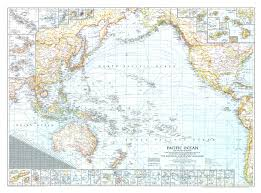 Map Of Pacific 1943 Pacific Ocean And The Bay Of Bengal Map Historical Maps