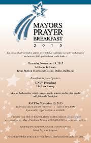 thanksgiving table prayer mayors prayer breakfast 2016 u2013 interfaith council of southern nevada