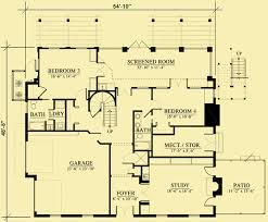 Foyer Plans Unusual House Plans For A Four Bedroom Upside Down Home