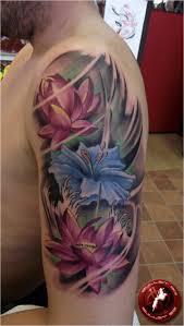 lotus flower tattoo on men delicate to rebellious 40 fabulous flower tattoos