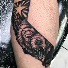 29 best landscape designs for men bear tattoo images on pinterest