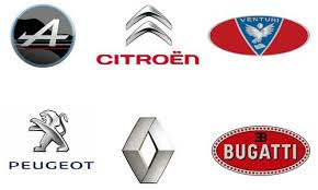 french car brands names list and logos of french cars